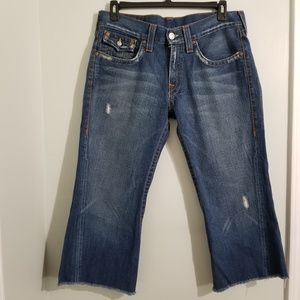 True Religion Cropped Joey Jeans